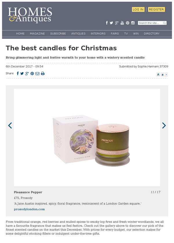 The Best Candles for Christmas