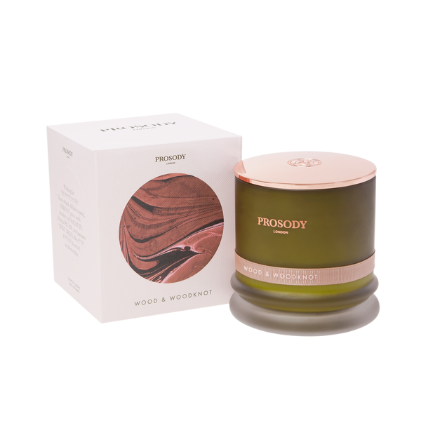 Wood & Woodknot - organic and all natural scented candle