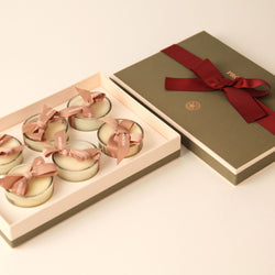 Big tea lights gift set