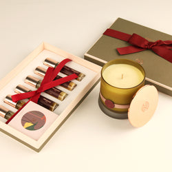 Travel Set and Scented Candle