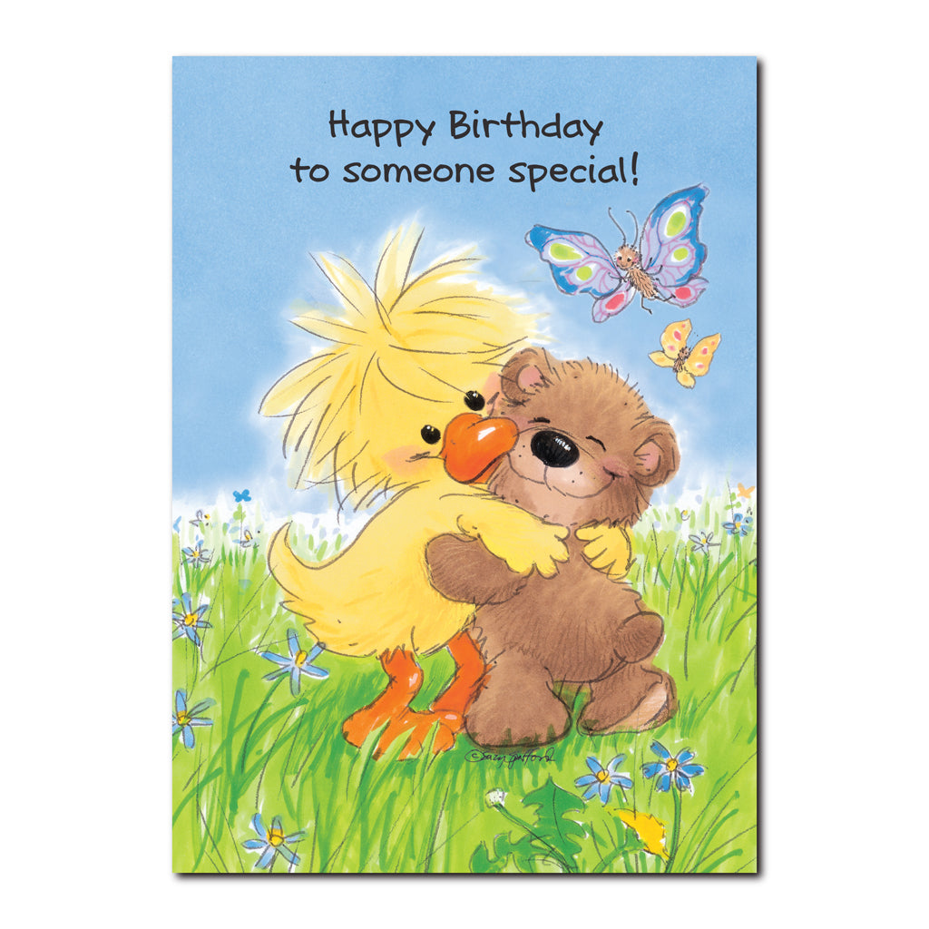 Witzy and boof birthday greeting card flickback media special friends witzy and boof feature on this happy birthday greeting card from little suzys zoo m4hsunfo