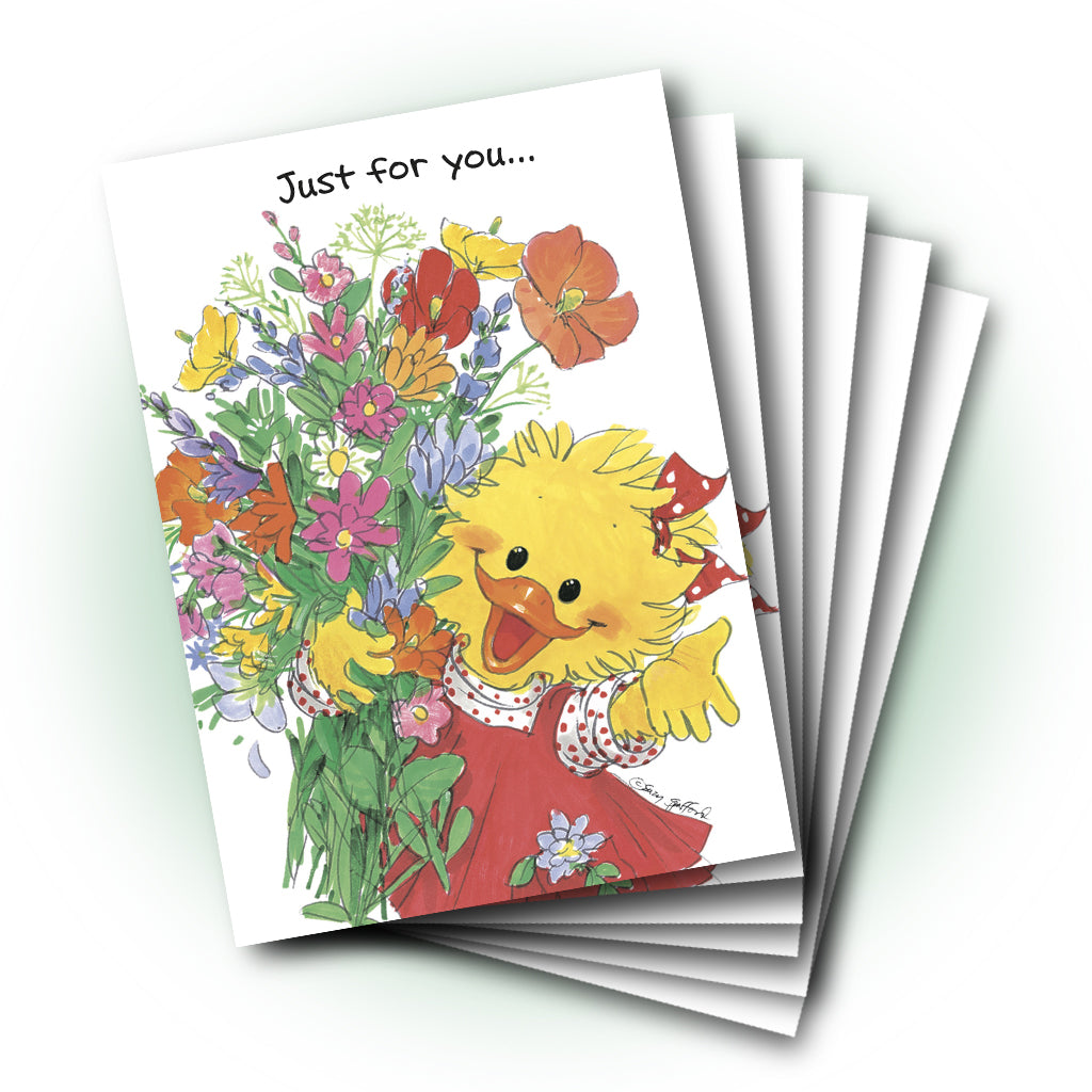suzy bouquet get well greeting card - Get Well Greeting Cards