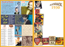 1930 Flickback DVD Video Greeting Card: 89th Birthday or Anniversary Gift