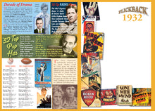 1932 Flickback DVD Video Greeting Card: Great Birthday or Anniversary Gift