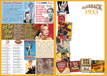 1933 Flickback DVD Video Greeting Card: 84th Birthday or Anniversary Gift