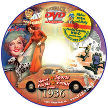 1936 Flickback DVD Video Greeting Card: Great Birthday or Anniversary Gift