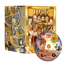 1936 Flickback DVD Video Greeting Card: 82nd Birthday or Anniversary Gift