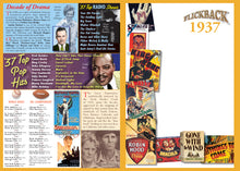 1937 Flickback DVD Video Greeting Card: Great Birthday or Anniversary Gift