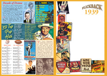 1939 Flickback DVD Video Greeting Card: Birthday or Anniversary Gift