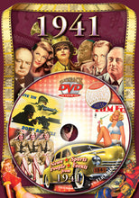 1941 Flickback DVD Video Greeting Card: 77th Birthday or Anniversary Gift