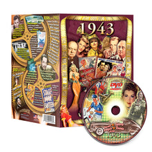 1943 Flickback DVD Video Greeting Card: 75th Birthday or Anniversary Gift