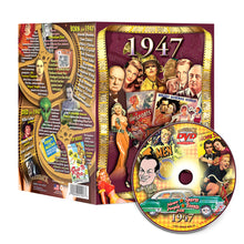 1947 Flickback DVD Video Greeting Card: Great Birthday Gift or Anniversary Gift