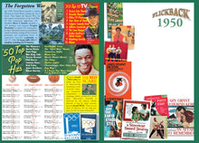 1950 Flickback DVD Video Greeting Card: 70th Birthday or Anniversary Gift