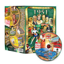 1951 Flickback DVD Video Greeting Card: Great Birthday or Anniversary Gift