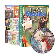 1955 Flickback Movie DVD Video Greeting Card: 65th Birthday or Anniversary Gift