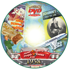 1958 Flickback DVD Video Greeting Card: 59th Birthday or Anniversary Gift