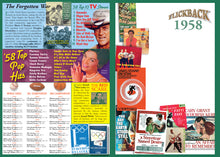 1958 Flickback DVD Video Greeting Card, Happy 61st Birthday or Anniversary Gift