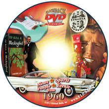 1960 Flickback DVD Video Greeting Card: 60th Birthday or Anniversary Gift