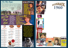 1960 Flickback DVD Video Greeting Card: 59th Birthday or Anniversary Gift