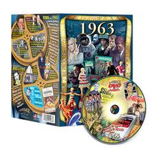 1963 Flickback DVD Video Greeting Card: Great Birthday or Anniversary Gift