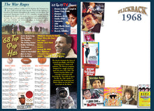1968 Flickback DVD Video Greeting Card: 50th Birthday or Anniversary Gift