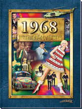 1968 What a Year It Was!: Birthday or Anniversary Hardcover Coffee Table Book, 2nd edition