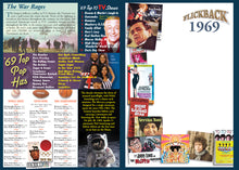 1969 Flickback DVD Video Greeting Card: 49th Birthday or Anniversary Gift