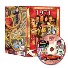 1971 Flickback DVD Video Greeting Card: Great Birthday or Anniversary Gift