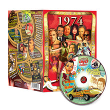 1974 Flickback DVD Video Greeting Card: 44th Birthday or Anniversary Gift