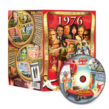 1976 Flickback DVD Video Greeting Card: 42nd Birthday or Anniversary Gift