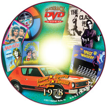 1978 Flickback DVD Video Greeting Card: Happy 41st Birthday or Anniversary Gift