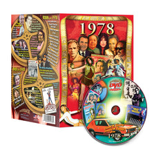 1978 Flickback DVD Video Greeting Card: 39th Birthday or Anniversary Gift