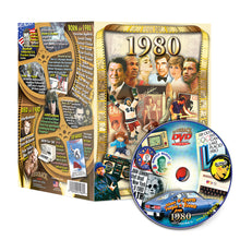 1980 Flickback DVD Video Greeting Card: 39th Birthday or Anniversary Gift