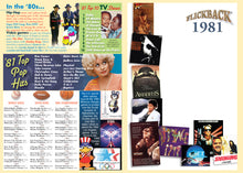 1981 Flickback DVD Video Greeting Card: Great Birthday or Anniversary Gift