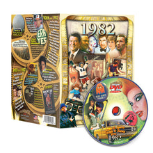 1982 Flickback DVD Video Greeting Card: 36th Birthday or Anniversary Gift