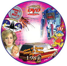 1984 Flickback DVD Video Greeting Card: 34th Birthday or Anniversary Gift