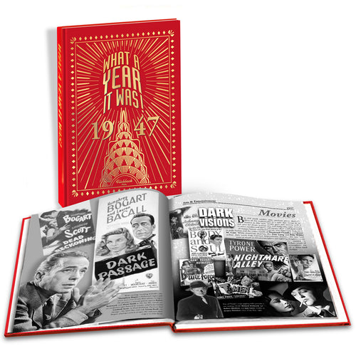 1947 What A Year It Was!: Great Birthday or Anniversary Gift - Coffee Table Book
