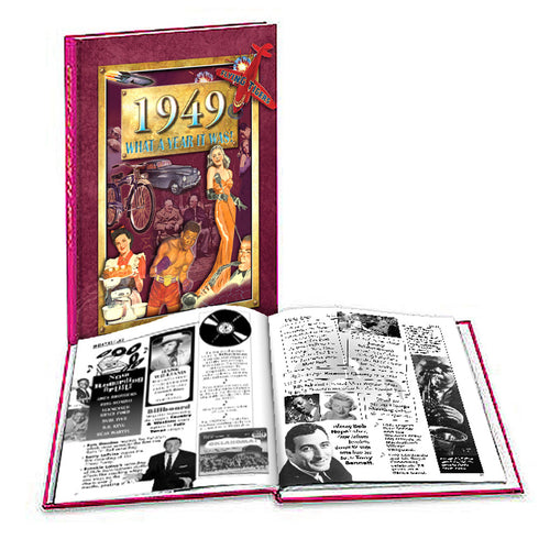 1949 What a Year It Was!: Happy 70th Birthday or Anniversary Gift - Coffee Table Book (2nd Edition)