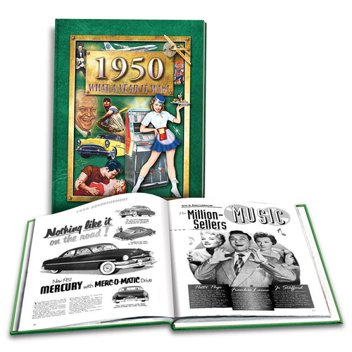 1950 What a Year It Was!: 68th Birthday or Anniversary Gift - Coffee Table Book (2nd Edition)