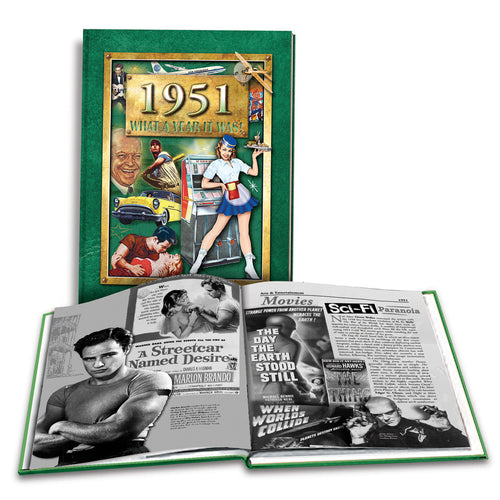 1951 What a Year It Was!: 67th Birthday or Anniversary Gift - Coffee Table Book