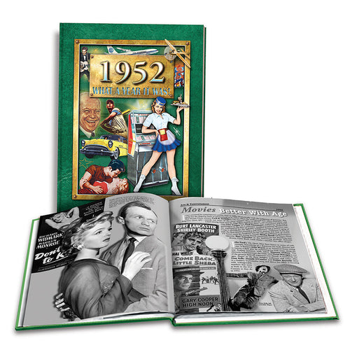1952 What a Year It Was!: Great Birthday or Anniversary Gift - Coffee Table Book