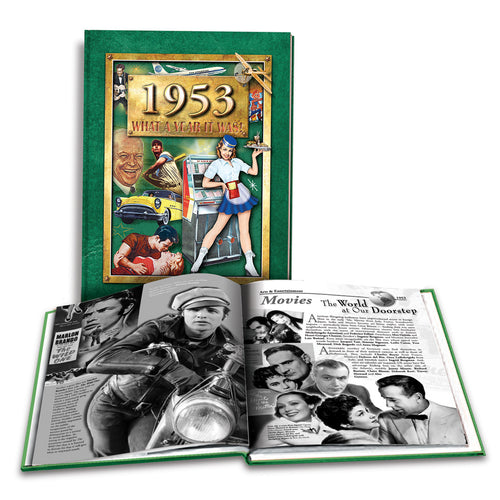 1953 What a Year It Was!: Great Birthday or Anniversary Gift - Coffee Table Book