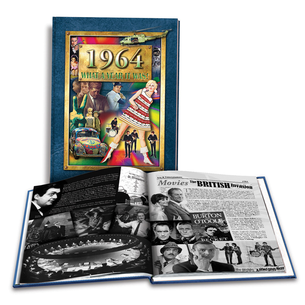 1964 What a Year It Was!: 55th Birthday or Anniversary Gift - Coffee Table Book, 2nd Edition