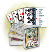1965 Trivia Challenge Playing Cards: 55th Birthday or Anniversary Gift