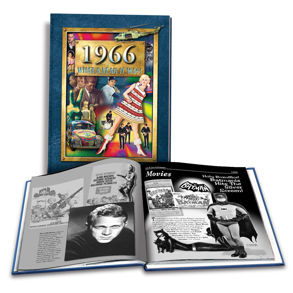 1966 What a Year It Was!: 52nd Birthday or Anniversary Gift - Coffee Table Book