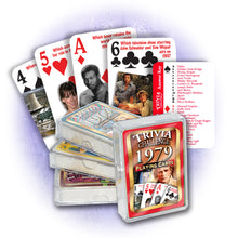 1979 Trivia Challenge Playing Cards: Happy Birthday or Anniversary Gift