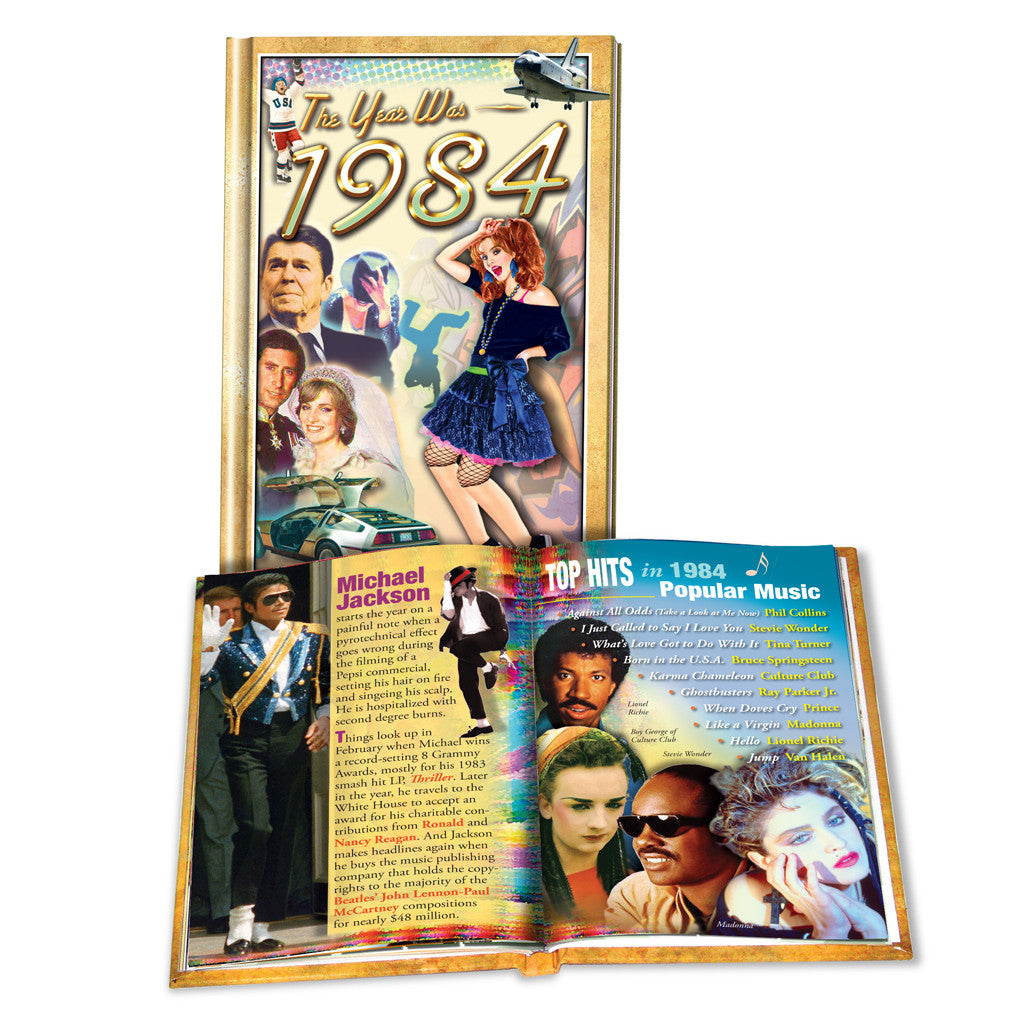 1984 MiniBook: 35th Birthday or Anniversary Gift