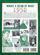 1950 What a Year It Was: 70th Birthday or Anniversary Gift - Coffee Table Book (1st Edition)
