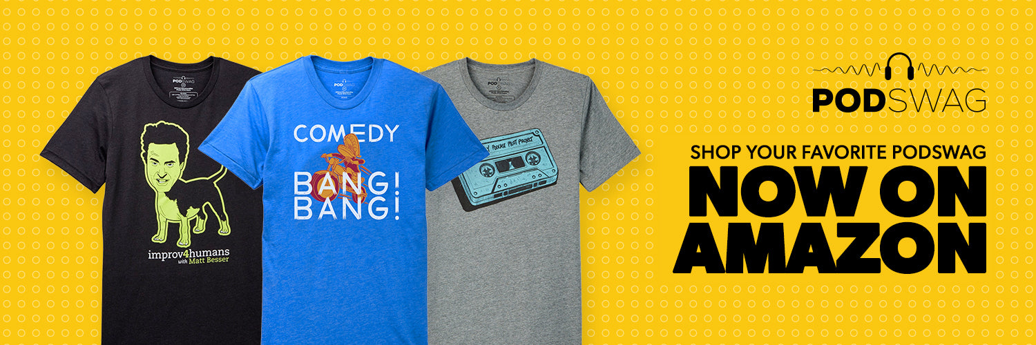 PodSwag — shirts and other merch from your favorite podcasts