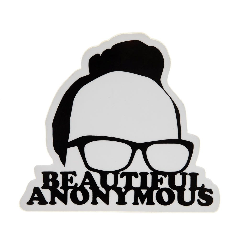Beautiful Anonymous: Decal Sticker